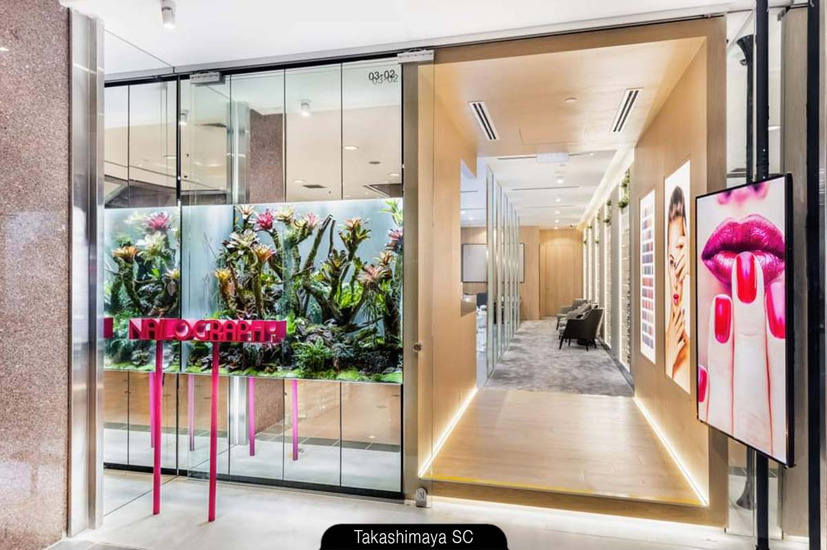 Nailography at Takashimaya S.C. redefines the concept of premium nail spa in Singapore.