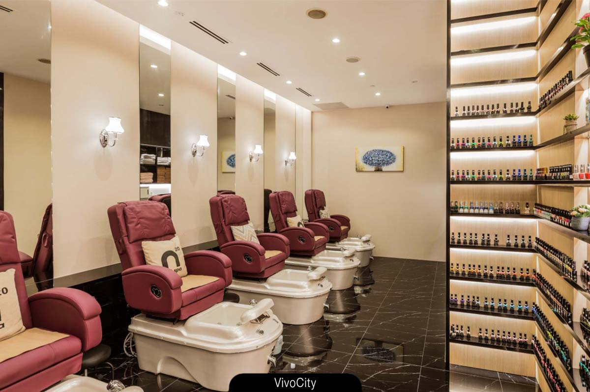 N20 Nail Spa salon - VivoCity. Redefines luxury.