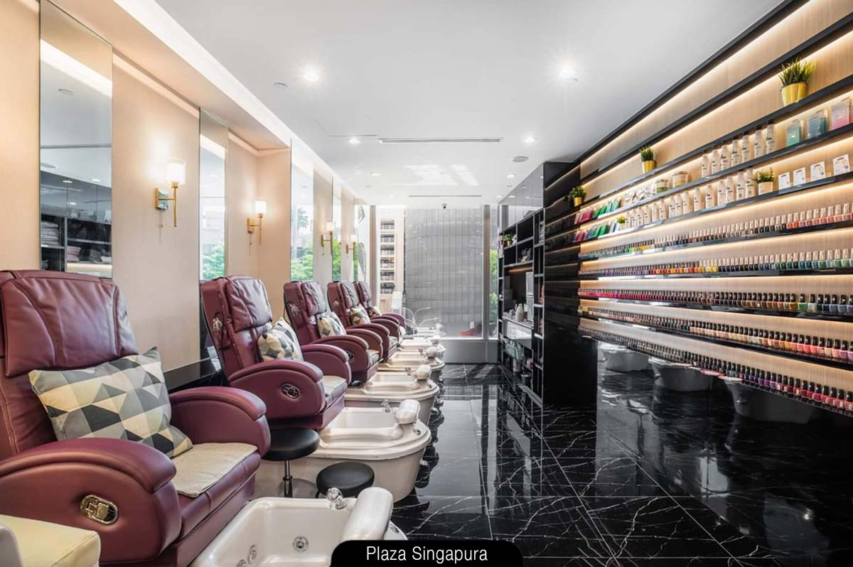 Infinitely luxurious at N20 Nail Spa & Eyelash (Plaza Singapura)