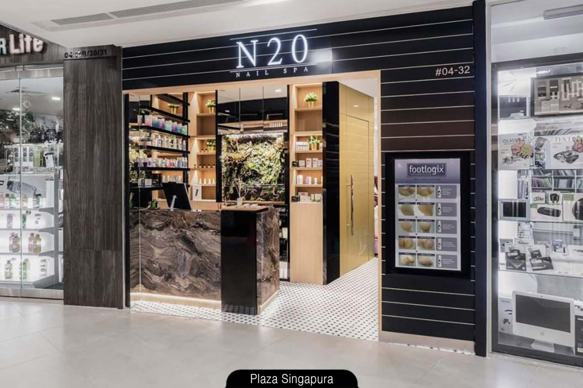 Nails, Eyelashes & Brows under one roof - N20 Nail Spa at Plaza Singapura