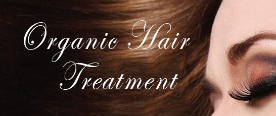 Organic hair treatment package