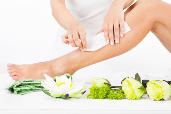 pedicure enhancements - collagen mask, arm waxing, organic scrub, leg waxing, callus treatment