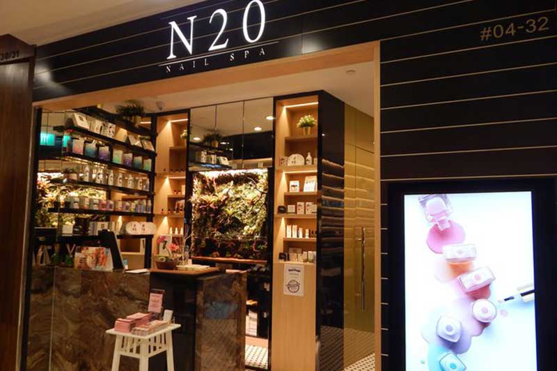 Contact N20 Nail Spa - Nail Salon Branches & Locations in