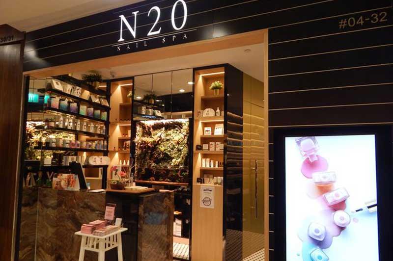 N20 Nail Spa & Eyelash @ Plaza Singapura, #04-32
